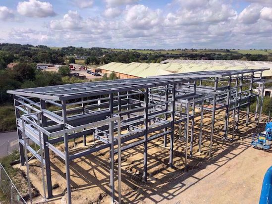 Picture of Structural Steel work Units
